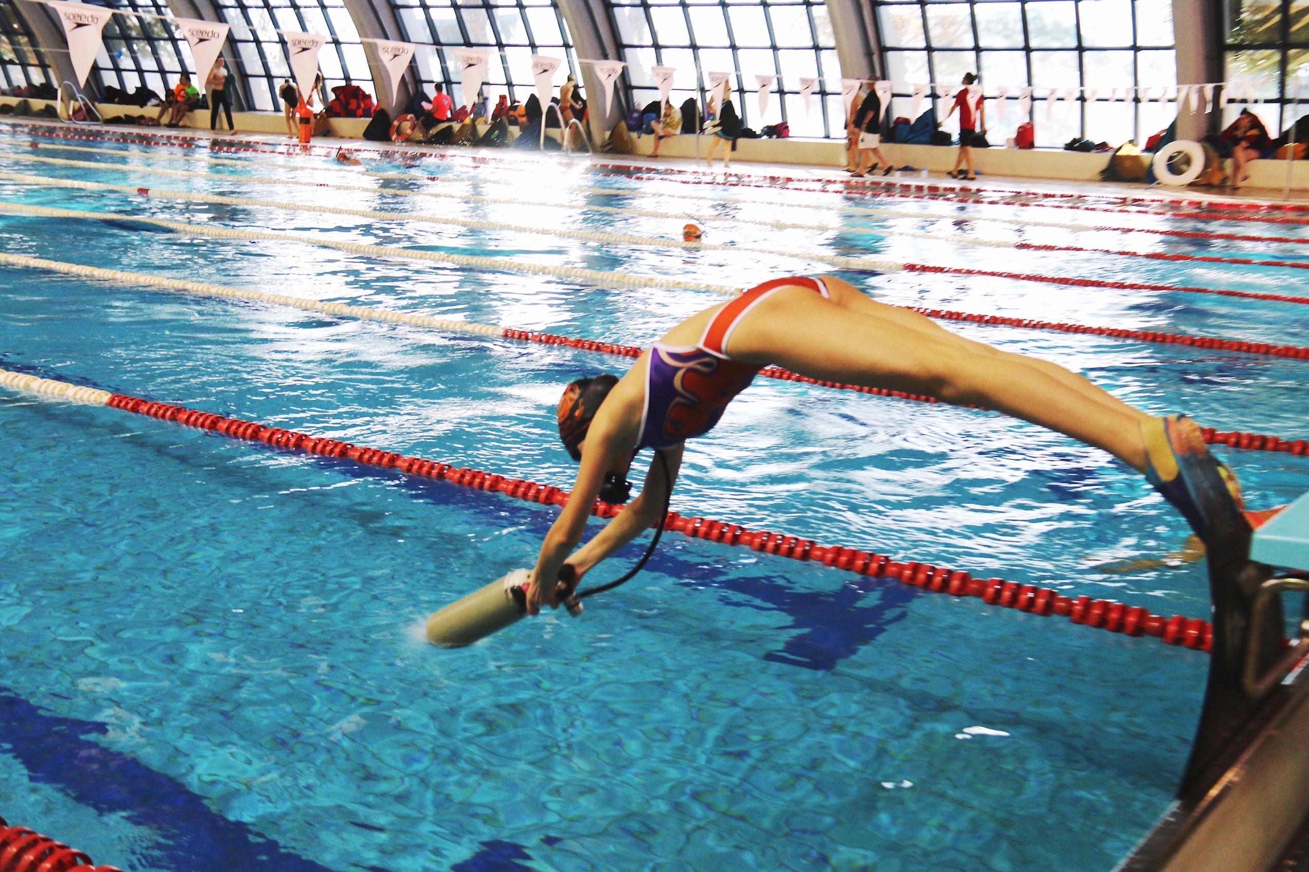 Este fin de semana se celebrar un control de nataci n en for Piscina municipal alicante