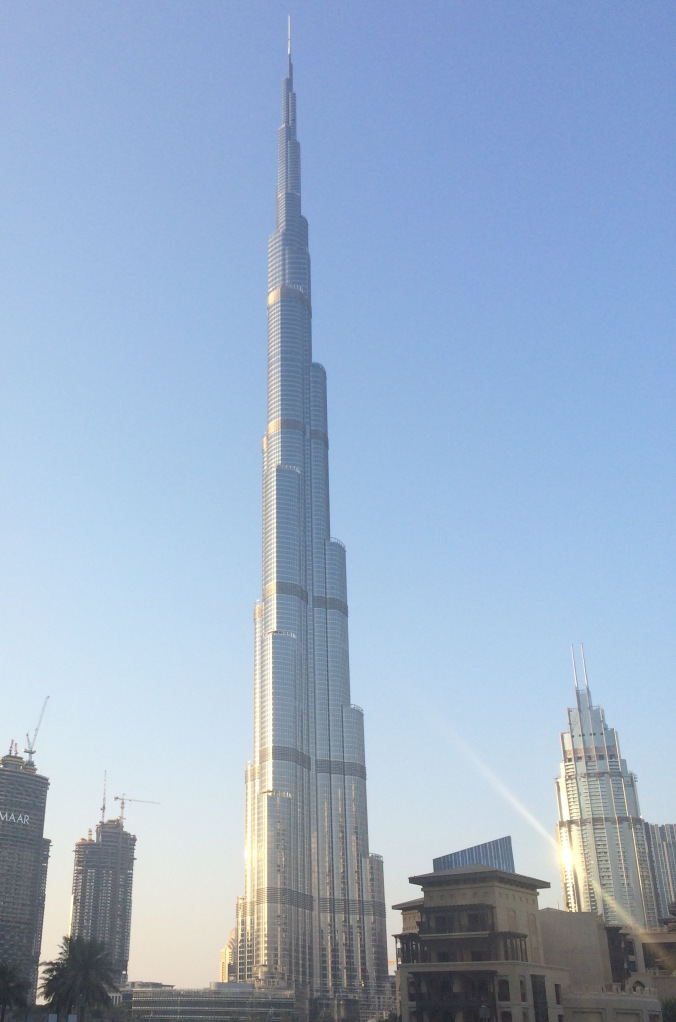 Burj Khalifa desde la Burj Plaza