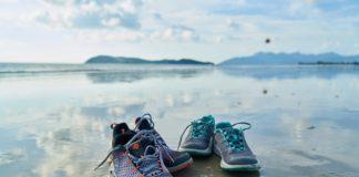 Deporte y ejercicio en playa