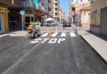Obras asfaltado Torrevieja
